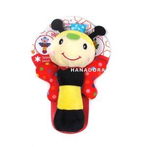 Catell Love Rattle Stick Wings - Bee