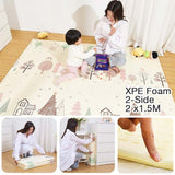 NB Foldable XPE Playmat - Matras/Alas Bermain - C