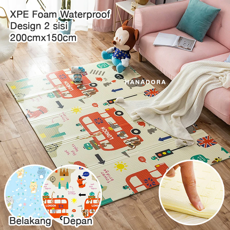 NB Foldable XPE Playmat - Matras/Alas Bermain - A