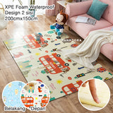 NB Foldable XPE Playmat - Matras/Alas Bermain - D