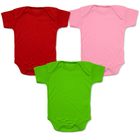 Miabelle Bodysuit Set 3 Buah - Watermelon