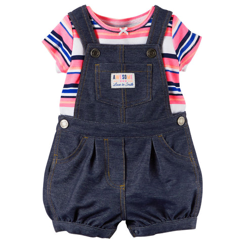 Catell Love 2-Piece Shortalls Awesome