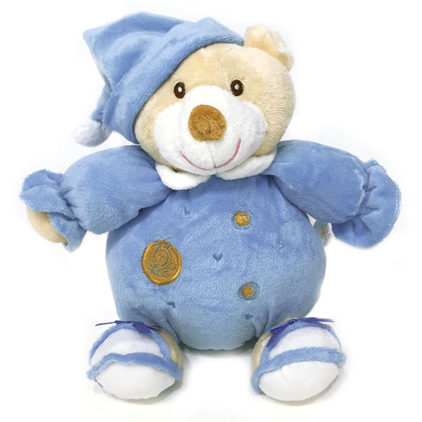 Musical String Plush Toy - Blue Bear