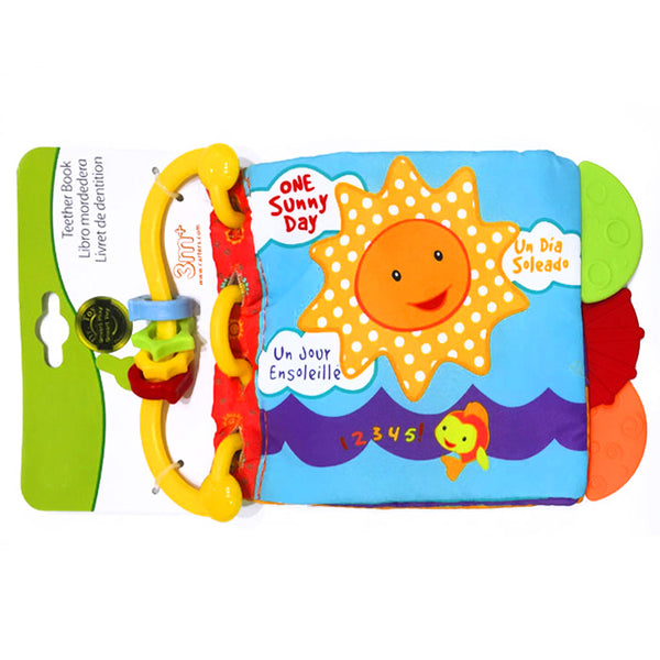 CTR Teether Book - One Sunny Day