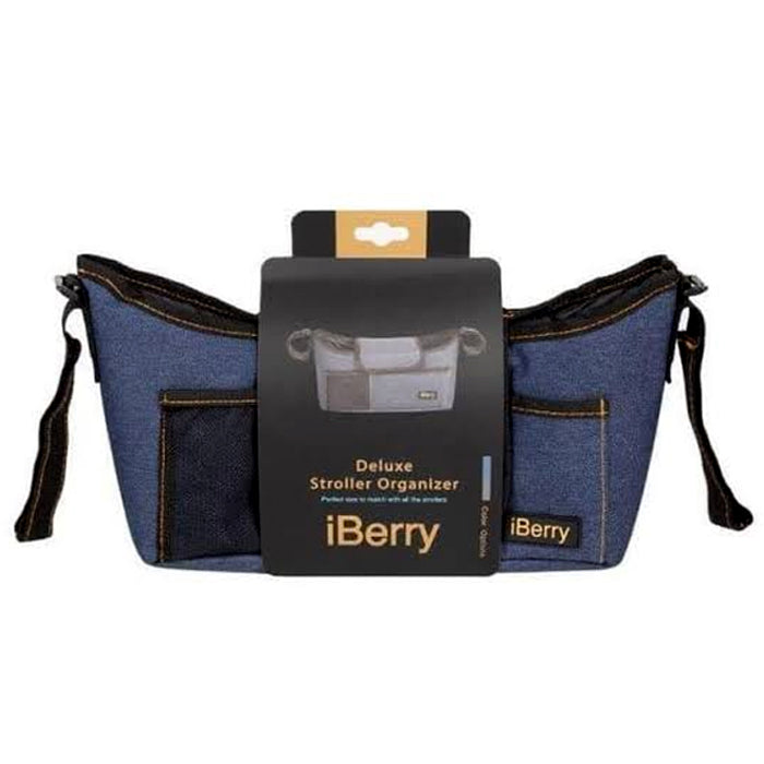 iBerry Deluxe Stroller Organizer - Blue