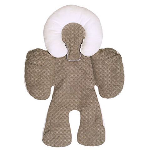 JJ COLE Reversible Body Support - Alas Stroller Car Seat - Brown