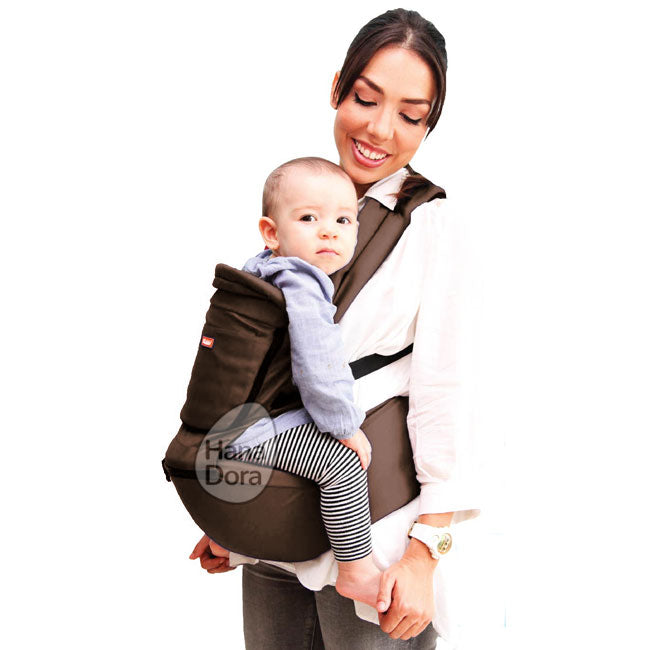 Kiddy Hiprest Baby Carrier 2in1 KD7194 - Brown - Gendongan Bayi