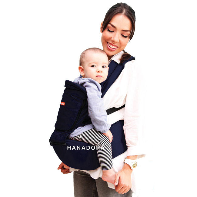 Kiddy Hiprest Baby Carrier 2in1 KD7194 - Navy - Gendongan Bayi