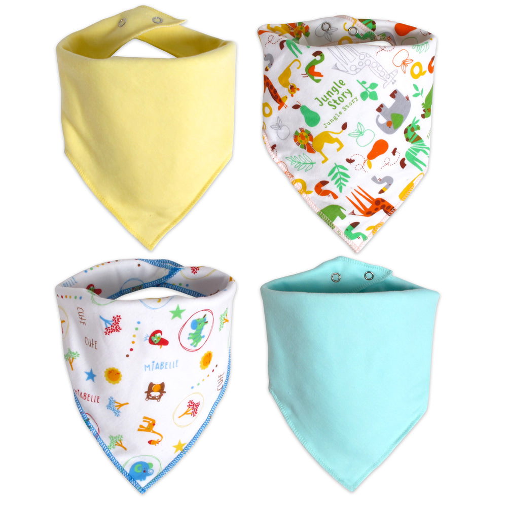 Miabelle Bib Bandana Mix Set 4pcs