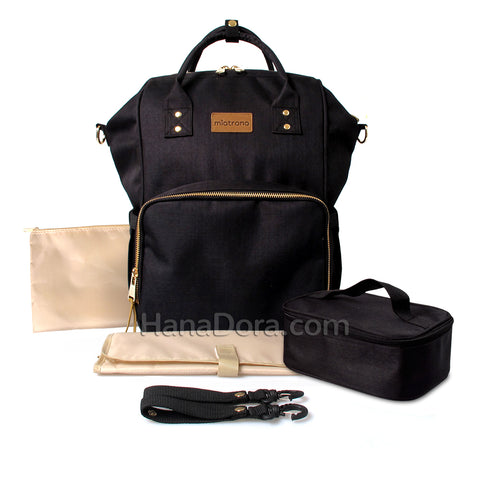Miatrono CARA Diaper Bag - Black