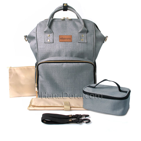 Miatrono CARA Diaper Bag - Grey