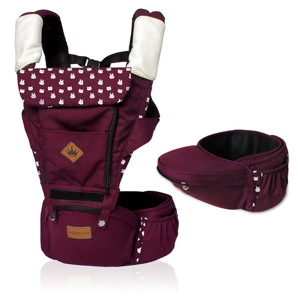 Miatrono Hipseat Carrier - Cuddly Red