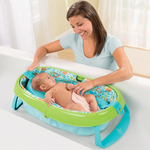Summer Infant Easystore Comfort Tub - Green