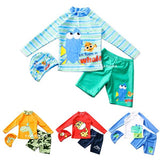 NB Swimming Suit SW02 - Baju Renang Anak - Fish