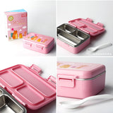 Yooyee Kids Stainless Steel Lunchbox 627 - Kotak Makan Leakproof