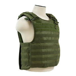 Quick Release Plate Carrier Vest - Green
