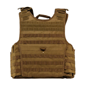 Expert Plate Carrier Vest - Large, Tan