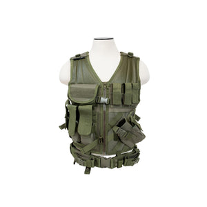 Tactical Vest - Green, M-XL