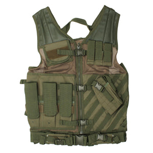 Tactical Vest - Green, XL-XXL+