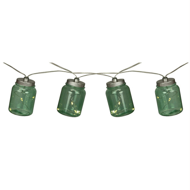 Rivers Edge Twinkling Canning Jar Lights-10ft