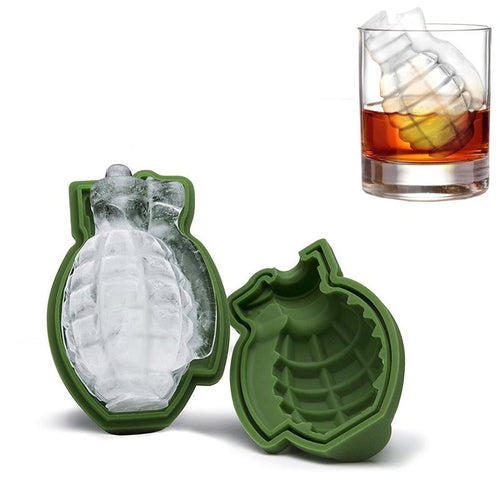 3D Grenade Ice Cube Mold Creative Bar Pub Accessories Tools - CubeTrends