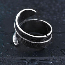 Steel Soldier Stone Opening Ring - CubeTrends