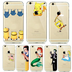 Cartoon iPhone Case - CubeTrends