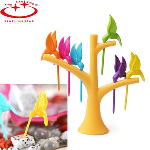 Creative Fruit Fork Toothpick Holder - CubeTrends