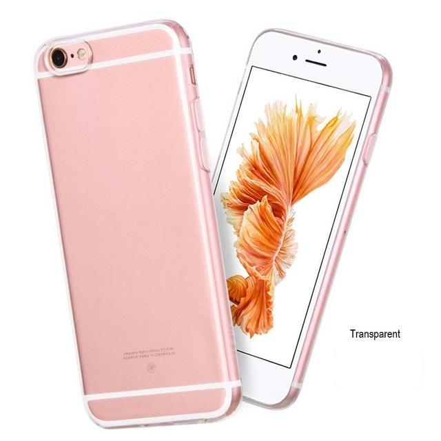 Soft Ultra thin Phone Cases For iPhone 6 6s PLUS - CubeTrends
