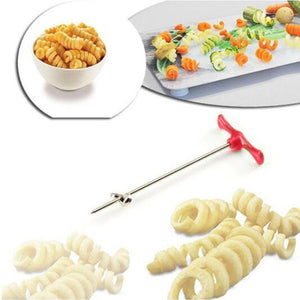 Manual Roller Spiral Slicer Radish Potato Tools - CubeTrends