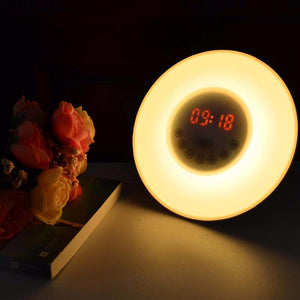 FM Radio Digital Bedroom Light - CubeTrends