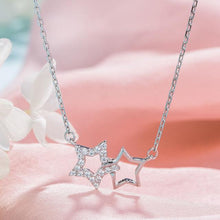 Silver Moon Star Pendant Necklace - CubeTrends