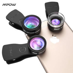 Clip-On Phone Camera Lens Kits - CubeTrends