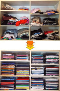 Magic Clothes Organizer (10 pcs) - CubeTrends