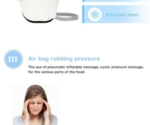 Electric Head Adjustable Massager - CubeTrends