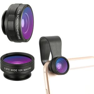 Cell Phone Camera Lens Kit for iPhone Samsung - CubeTrends