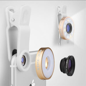 Fisheye Phone Camera Lens Kit - CubeTrends