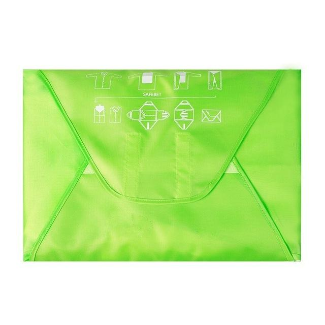 Packing Folder Travel Garment Bag Travel Accessory to Avoid Wrinkled Clothing Small - CubeTrends