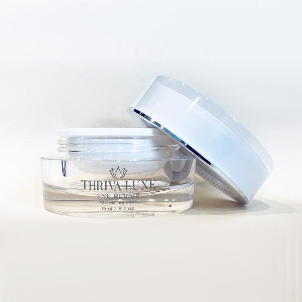 EYE REVIVE 50MG CBD - THRIVA LUXE | BOTANICAL PEPTIDES CREAM