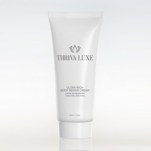 LUXURY BODY REPAIR CREAM 400MG CBD - THRIVA LUXE | 4OZ | ANTI-INFLAMMATORY/PAIN RELIEF | HYALURONIC ACID | VITAMIN D
