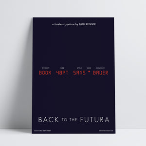 Back to the Futura