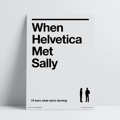 When Helvetica Met Sally