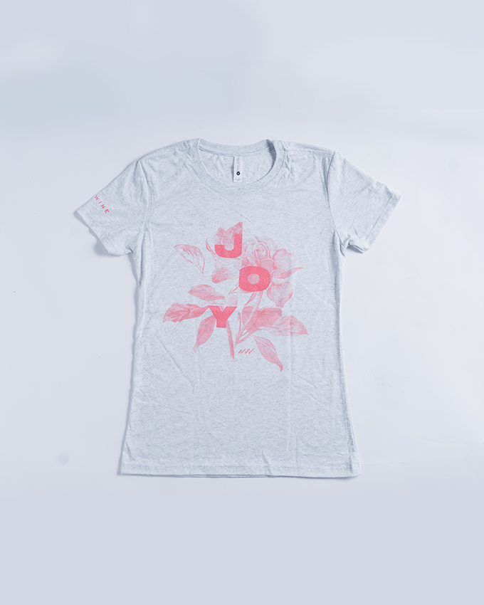New Wine Joy Girl Tee