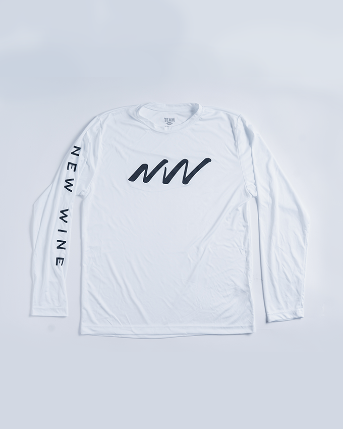 New Wine Brand White Long Sleeve