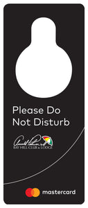 Do Not Disturb Door Hanger $.17 - $.63