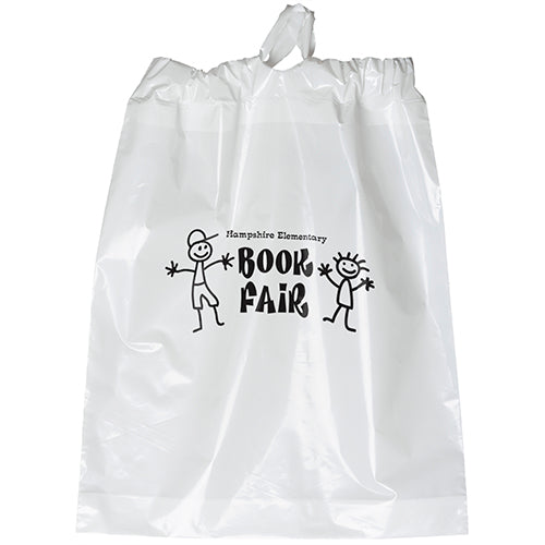 Poly Draw Bag 15x19x3 $.46 - $.53