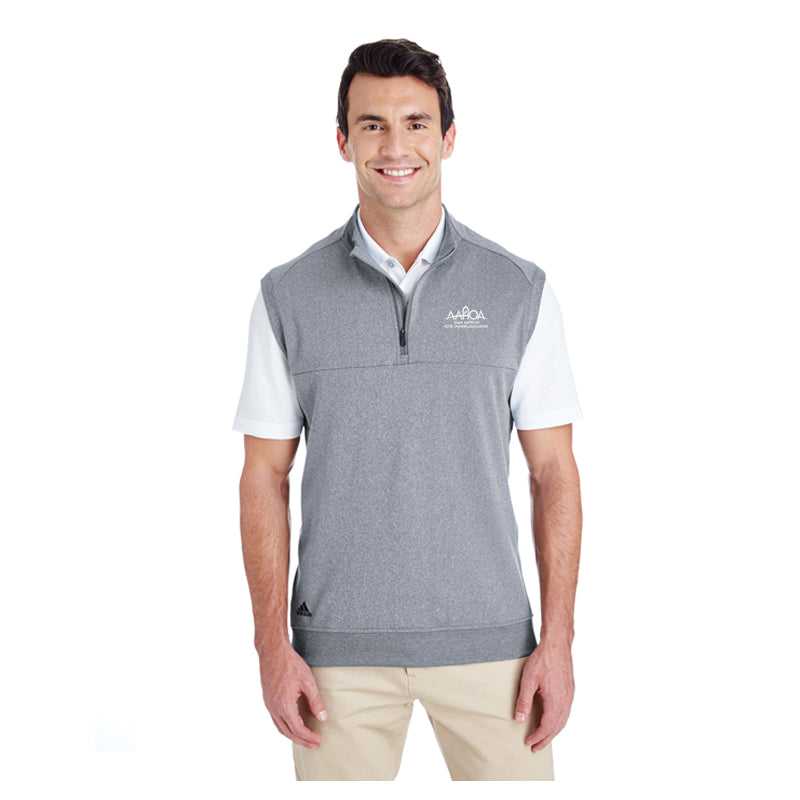 adidas Golf Men's Quarter-Zip Club Vest