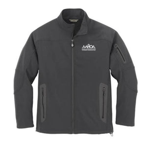 Three-Layer Fleece Bonded Soft Shell Technical Jacket