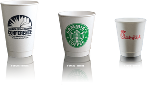 Insulated Paper Cups $.36 - $.46