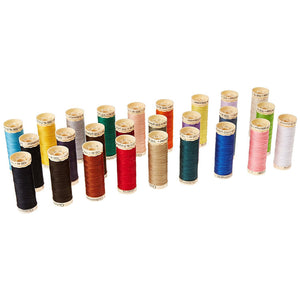 Gutermann 26 Spools of Sewing Thread - Assorted Colors
